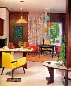 1965 Interior Decorating Design Eames Knoll Wormley Mid Century Modern Design | eBay