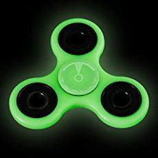The Anti-Anxiety 360 Spinner Helps Focusing Fidget Toy [3D Figit] Premium Quality EDC Focus Toy for Kids & Adults - Best Stress Reducer Relieves ADHD Anxiety and Boredom Ceramic Bearing (Black)