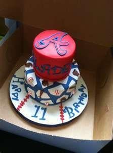 Braves cake