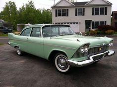 1958 Plymouth Savoy 440 Big Block Dual 650 4 Barrels