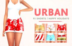 XUrbanSimsX Official Website: DOWNLOADS | CLOTHING BOTTOMS