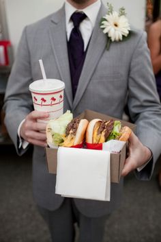 No offense to anyone else, but this is the best wedding food ever.