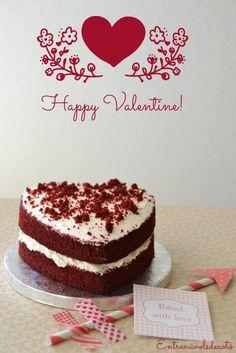 Celebrant Sant Valentí amb un Red Velvet | Entre núvols de cotó
