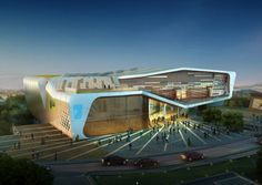 Health & Sports Education Center | Kang Chul-Hee + Idea Image Institute of Architects - Arch2O.com