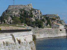 Korfu: alte Festung in der Hauptstadt
