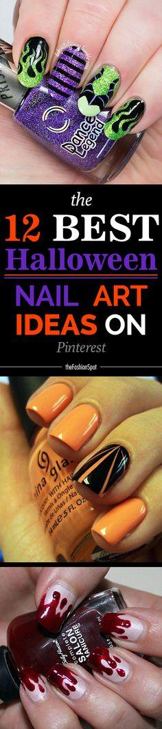 The best Halloween nail art ideas on Pinterest right now