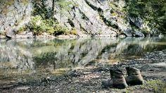 Looks like a great spot to cool my feet... Iron Springs near Jessieville, Arkansas