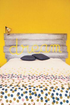 DIY Tête de lit en lambris super fastoche !