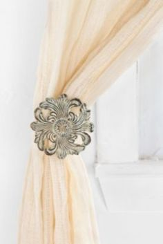 Plum & Bow Snowflake Curtain Tie-Back - Urban Outfitters
