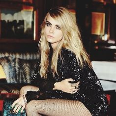 Always Sparkle:Cara Delevingne