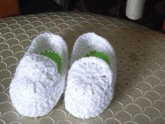 Baby Slipper Häkeln*Baby Balerinas* Baby Schuhe*Crochet*Tutorial Handarbeit DIY - YouTube