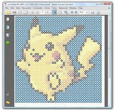 Perler bead art pattern generator - turn any image into printable pdf pattern