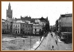1918, 27 de marzo Sevilla, solar que dejo el edificio de los genoveses para hacer el banco de España