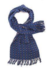 Zina Scarf   Blue   Chiapas Bazaar   Handmade Mexican Blouses, Accessories & Home Decor from Rural Artisans