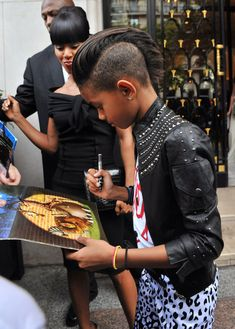 Willow Smith Her cut is cute