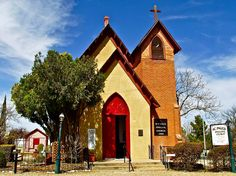 episcopal artwork   ... Episcopal Church-1882 In Tombstone-az Fine Art Prints and Posters for