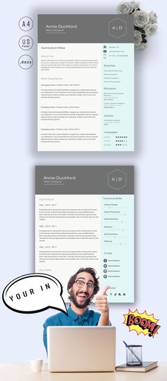 Capsule 50 discount (Code Churchill) CV Design CV Template - microsoft word template for resume