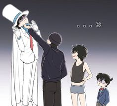 Lol moment. Look how Akai-san beat up Kaitou Kid