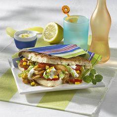 Geflügel-Döner mit Mais Rezept | LECKER Snacks Für Party, Hot Dogs, Bbq, Sandwiches, Tacos, Mexican, Lunch, Burgers, Ethnic Recipes