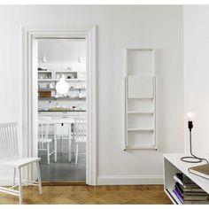 Design House Stockholm Step Ladder keukentrap | FLINDERS Swedish Design, Danish Design, Tall Bookshelves, Design House Stockholm, Red Dot Design, Furniture Factory, Boconcept, Easy Wall, Elle Decor