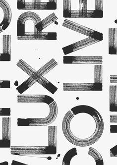 lines typography fonts \ lines typography & lines typography design & lines typography logo & lines typography fonts & lines typography poster & lines typography layout & lines typography illustrations & typography with lines Cool Typography, Typography Letters, Typography Poster, Japanese Typography, Typography Layout, Graphic Design Print, Graphic Design Typography, Graphic Design Inspiration, Sunday Inspiration