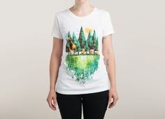 """Geo Forest"" - Threadless.com - Best t-shirts in the world"