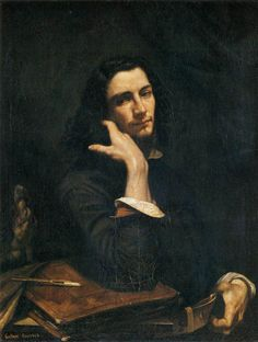 Courbet, Man with a Leather Belt, 1845 (self portrait)