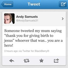 the effect andy seems to have on people is ridiculous (: