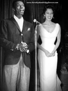 Image result for nat king cole and dorothy dandridge