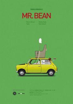 Famous Movie Cars Get The Minimal Poster Treatment From Designer Jesús Prudencio. Minimal Movie Posters, Minimal Poster, Cinema Posters, Car Posters, Film Posters, Famous Movie Cars, Iconic Movies, Iconic Movie Posters, Popular Movies