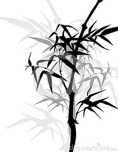 asian-bamboo-frame-traditional-painting-style-background-40347713.jpg (348×450)