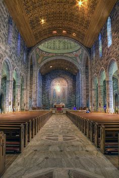 The Cathedral of Our Lady Assumed into Heaven and St Nicholas (Irish language: Ard-Eaglais Mhaighdean na Deastógála agus Naomh Nioclás), commonly known as Galway Cathedral is a Roman Catholic cathedral in Galway, Ireland.