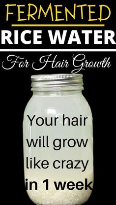 Powerful Rice Water Recipes For Healthy Natural Hair Growth (2021) - Primeskincaresolutions