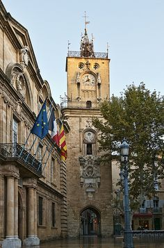 Aix -En-Provence. one of my favorite places we traveled. Could hhave stayed much longer. Beautiful place,