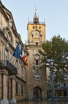 Clock Tower, Aix-en-Provence  #provence #france #tourism #tourisme
