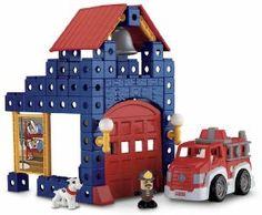 Best Price Fisher Price TRIO Fire Station Set Find Best Deals - http://wholesaleoutlettoys.com/best-price-fisher-price-trio-fire-station-set-find-best-deals