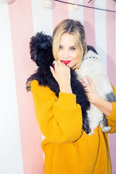 Because, like, just look at that mustard-yellow cowlneck sweater. http://www.thecoveteur.com/ashley-benson/