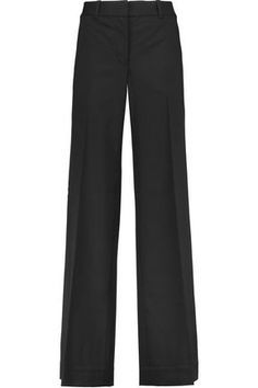 3.1 PHILLIP LIM WOMAN STRAIGHT LEG BLACK. #3.1philliplim #cloth #