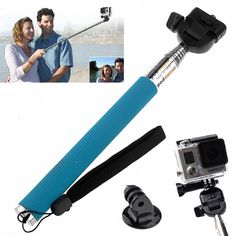 St 55 Extendable Pole Monopod With Tripod Mount Adapter For Gopro, Gopro Self Monopod Grip, Gopro Selfie Sticks, Gopro Extendable Pole Top Selfie Apps The Best Selfie Camera From Rollingshop, $2.62| Dhgate.Com