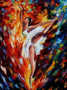 FLIGHT - Palette knife Oil Painting on Canvas by Leonid Afremov http://afremov.com/FLIGHT-Palette-knife-Oil-Painting-on-Canvas-by-Leonid-Afremov-Size-40-x30.html?bid=1&partner=15955