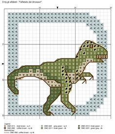 alfabeto dei dinosauri D
