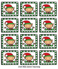 Just Wild About Teaching: You've Been Elf'd Freebie!