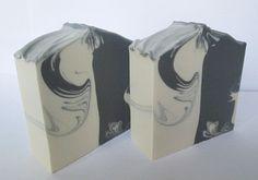 Black & White soap by Sviatlana Savon Soap, Mens Soap, Black Soap, Soap Packaging, Goat Milk Soap, Cold Process Soap, Soap Molds, Soap Recipes, Home Made Soap