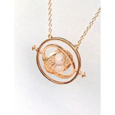 Harry Potter TIME TURNER Necklace ($27) ❤ liked on Polyvore featuring jewelry, necklaces, pendant jewelry and pendants & necklaces