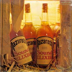 'Sound Elixir' was the fourteenth studio album by the Scottish hard rockband. Originally recorded in the album never received an official UKrelease due to a record label dispute. Beer Bottle, Whiskey Bottle, Rock Album Covers, Where Are You Now, Vintage Rock, Music Photo, Lp Vinyl, Hard Rock, Rock And Roll