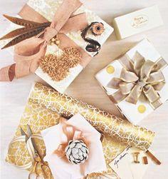 gorgeous gift wrap embellishments