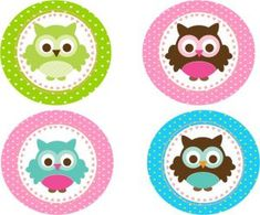 owl baby shower cupcake toppers – Home Party Theme Ideas Baby Shawer, Baby Owls, Fox Crafts, Diy And Crafts, Baby Shower Cupcake Toppers, Bird Party, Baby Shower Themes, Stickers, Party Themes