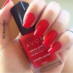 #vermelho #avon