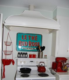 I Used To Have A Red Kitchen D Like Integrate Some Turquoise Though