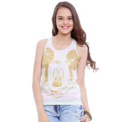 Regata juvenil Turma da Disney   Blusas   De Mulher Para Mulher, Marisa